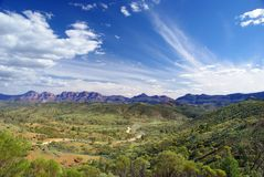 Flinders Mountain Range Royalty Free Stock Photography