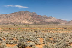 Flinders Ranges Landscape. South Australia Royalty Free Stock Photo