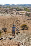 Flinders Ranges landscape. South Australia. stock image