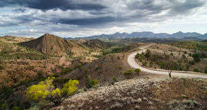 Flinders Ranges, South Australia, along the Heysen Trail. Stock Images