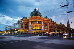 Flinders Station Royalty Free Stock Photography