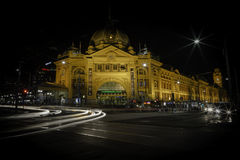 Flinders station Melbourne Australia Royalty Free Stock Photo