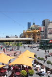 Flinders street station Melbourne Stock Photography