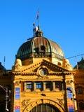 Flinders-Straßen-Station Stockfoto