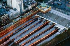 Flinders-Straßen-Station - Melbourne Lizenzfreie Stockbilder