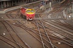 Flinders Street Railway Station Melbourne Royalty Free Stock Photos