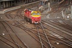 Flinders Street Railway Station Melbourne Royalty Free Stock Photo