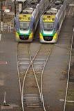 Flinders Street Railway Station Melbourne Stock Photos