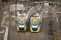 Flinders Street Railway Station Melbourne Stock Image