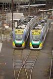 Flinders Street Railway Station Melbourne Stock Photo