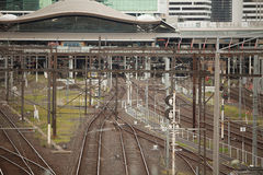 Flinders Street Railway Station Melbourne Stock Photography