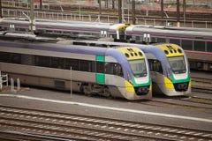 Flinders Street Railway Station Melbourne Stock Images