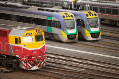 Flinders Street Railway Station Melbourne Royalty Free Stock Image