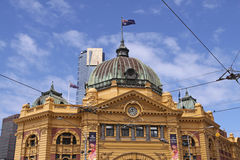 Flinders Street Station. Melbourne Royalty Free Stock Photography