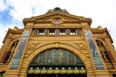 Flinders Street Station in Melbourne, Australia Royalty Free Stock Image