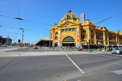 Flinders street station, Melbourne, Australia Royalty Free Stock Photo