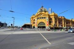 Flinders street station, Melbourne, Australia Royalty Free Stock Photo