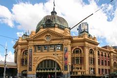 Flinders street station in melbourne,australia. Flinders street station  is taken in melbourne,australia Stock Image