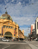 Flinders street station in melbourne,australia Royalty Free Stock Photography