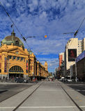 Flinders street station in melbourne,australia Royalty Free Stock Photos