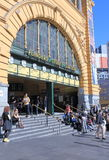 Flinders Street Station Melbourne Stock Image