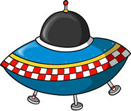 Fling Saucer. Alien Fling Saucer Vector illustration Stock Photography