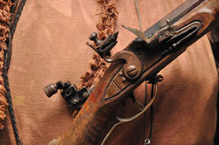 Flinklock rifle Royalty Free Stock Photos