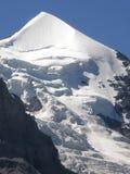 Flinsteraarhorn Grindelwald die Schweiz lizenzfreie stockbilder