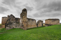 Flint Castle Royalty Free Stock Images