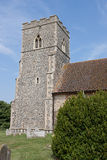 Flint Church Tower,UK Stock Photography