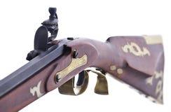 Free Flint Lock Mechanisim On A Replica Rifle Stock Images - 14423074