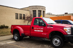 Flint Michigan Water Plant Stock Image