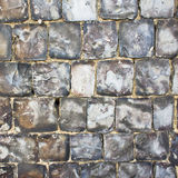 Flint stone wall Stock Photos