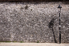 Flint wall. Royalty Free Stock Photography