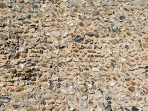 Flint wall Stock Image