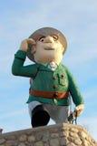 Flintabbatey Flonatin, mascotte de Flin Flon photographie stock libre de droits