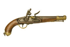 Flintlock pistol Royalty Free Stock Photos