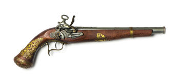 Flintlock pistol Royalty Free Stock Photo