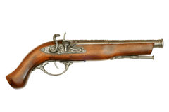 Flintlock pistool Royalty-vrije Stock Afbeeldingen