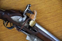 Flintlock rifle with Stock Images