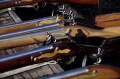 Flintlock rifle with Stock Image