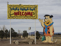 Flintstone RV Park and lodging Royalty Free Stock Photography