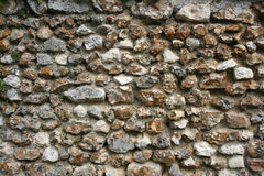 Flintstone wall Stock Image