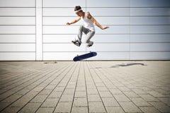 flip делая конькобежца Стоковое Изображение RF