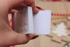 Flip book. A flip book or flick book is a book with a series of pictures that vary gradually from one page to the next, so that when the pages are turned rapidly stock image