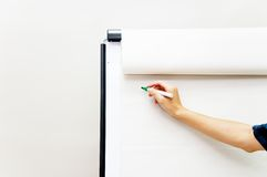 Flip chart Stock Photography