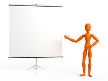 Flip chart. For your image Stock Image