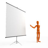 Flip chart. For your image Stock Photos