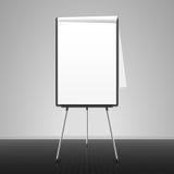 Flip chart. Blank flip chart vector illustration Royalty Free Stock Image