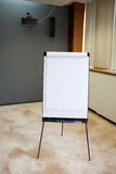 Flip chart indoor Royalty Free Stock Photos